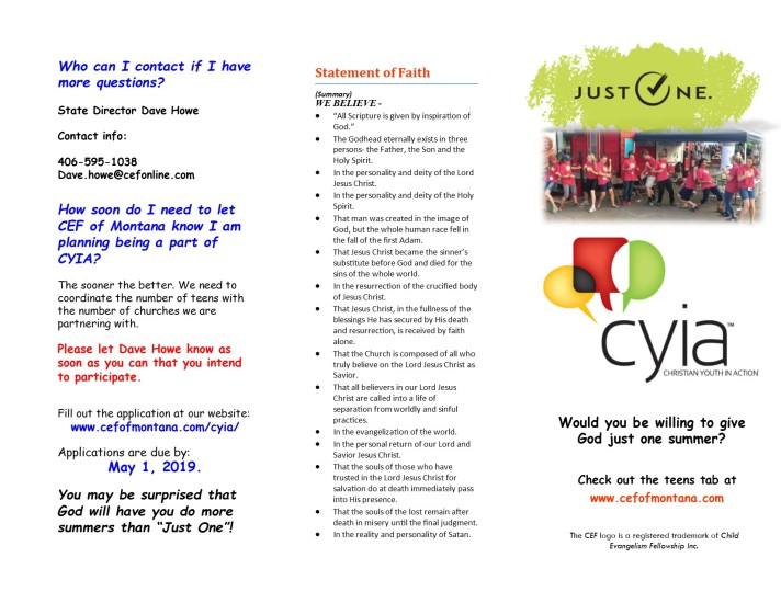 CYIA Flyer 2018